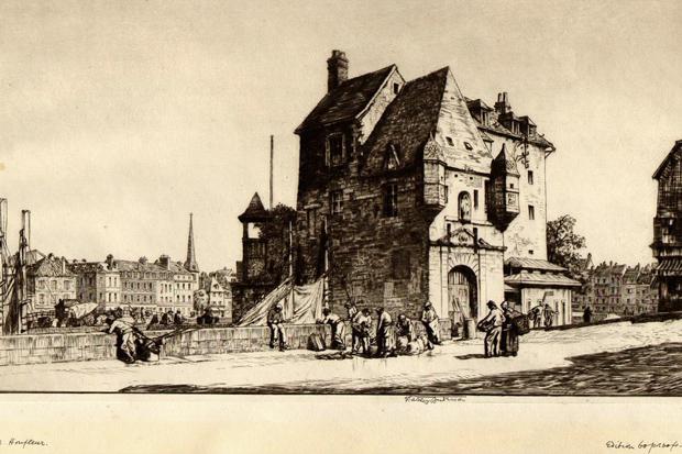 'La Lieutenance Honfleur' – Stanley Anderson