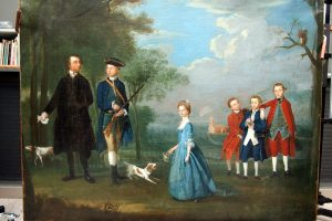 How A Painting is Restored – The Miles Barton Portrait