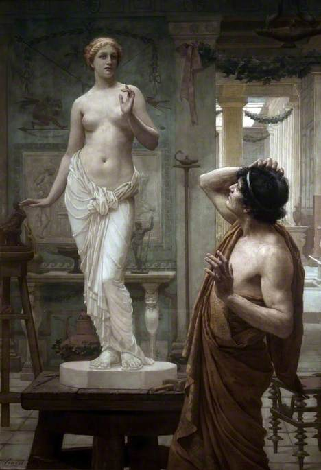 Normand, Ernest; Pygmalion and Galatea; Atkinson Art Gallery Collection; http://www.artuk.org/artworks/pygmalion-and-galatea-66179