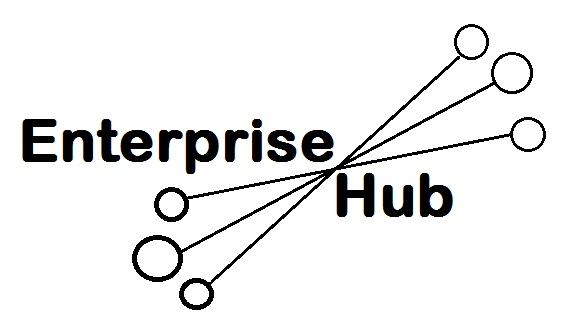 Enterprise Hub Project Logo black